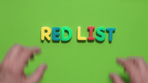 inscription- Red List Footage