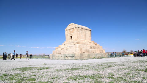 In Iran Pasargad 030 stock footage