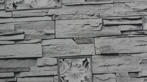 Walls Are Made Of Stone stock footage