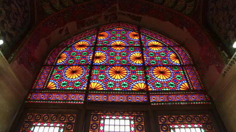 In Iran Colors From The Windows 002 stock footage