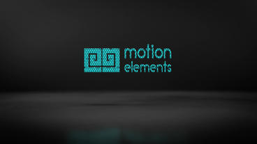 Elegant Motion Logo stock footage