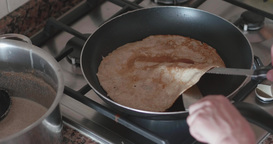 Bad Pan - Pancake Lumpy stock footage