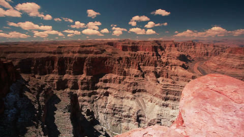 Tilt grand canyon Footage
