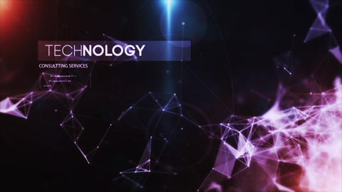 Plexus Inspire Tech Intro stock footage