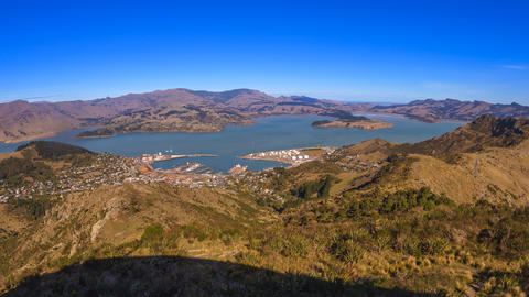 Lyttelton Harbour, Christchurch. Time Lapse Footage