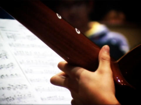 Musicians stock footage