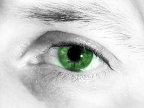 Eye Colors stock footage