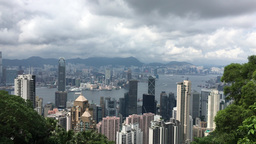 PEAK HONG KONG VIEW BY KDM RAW Unedited Video In 4K stock footage