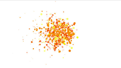 4k Abstract Explosions Particle,bubble Dust Blister Fireworks Dots Background stock footage