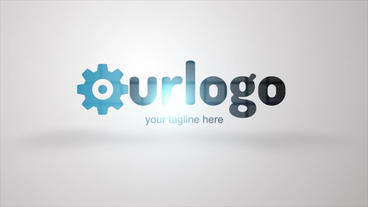 Logo Reveal Soft stock footage