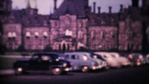 Canadian Parliament Buildings Ottawa 1958 Vintage 8mm film Footage