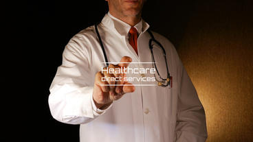 The Doctor - Medical Logo stock footage
