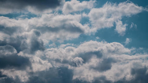 Clouds 01 stock footage