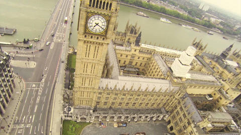 House Of Parliament stock footage