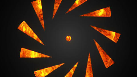 Abstract Background With Lava Sphere stock footage
