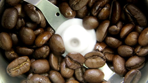 Coffee Grinder Sound stock footage