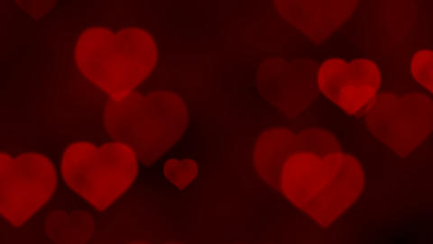 Love Hearts stock footage
