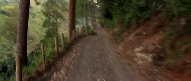 Andean Rural Road stock footage