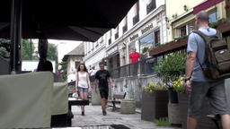 Bucharest City Centre stock footage