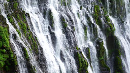 Waterfall On The Rocks stock footage