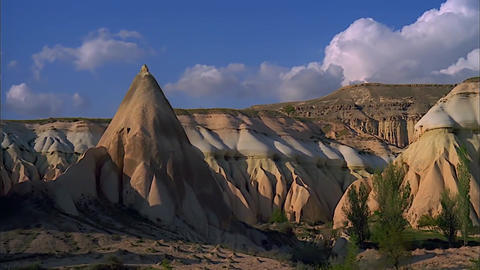 Cappadocia in Turkey. View of The Area Footage