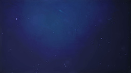 Ocean Particles Blue Background stock footage