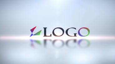 Elegant Logo Reveal V2 stock footage