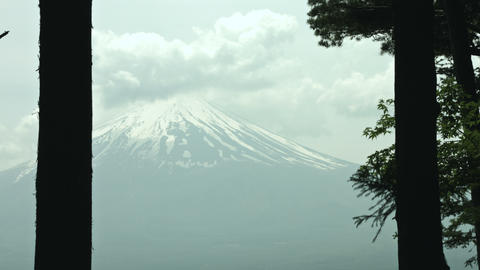 Mt Fuji stock footage