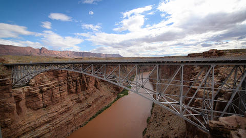 Marble Canyon And Bridge stock footage