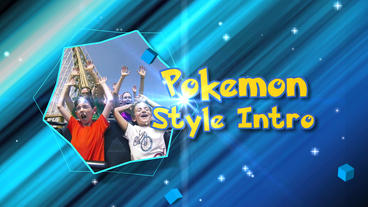 Pokemon Style Intro - After Effects Template stock footage