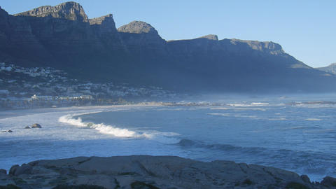 Twelve Apostles At Cape Town stock footage