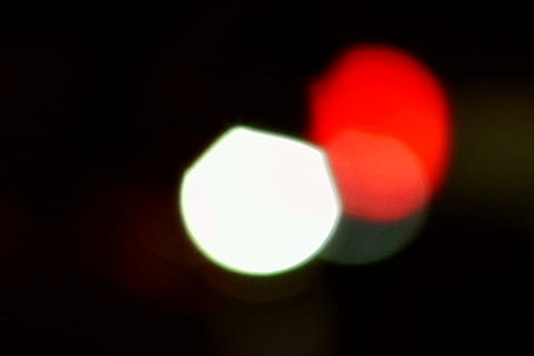 Car Lights _out Of Focus stock footage