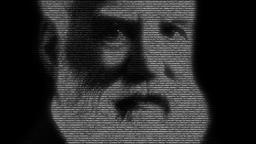 Alexander Graham Bell Portrait Animation Animation