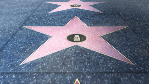 Walk of Fame Footage