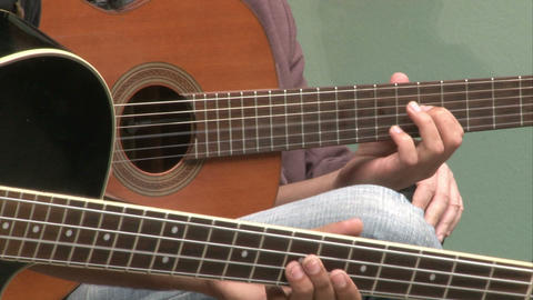 Guitarist02 stock footage