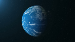 Earth Planet stock footage