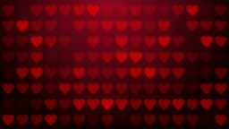 Heart, love symbol, loop background Animation