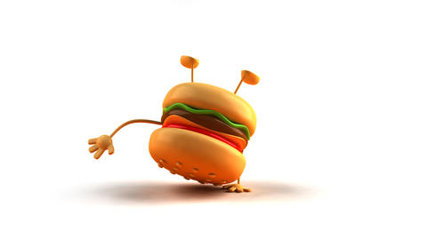 Hiphop burger HD Animation