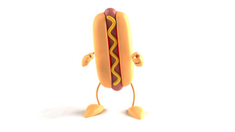 hotdog dance Animation