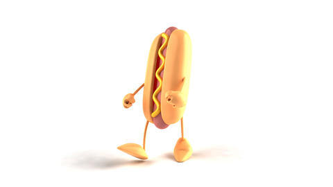 hotdog hiphop Animation