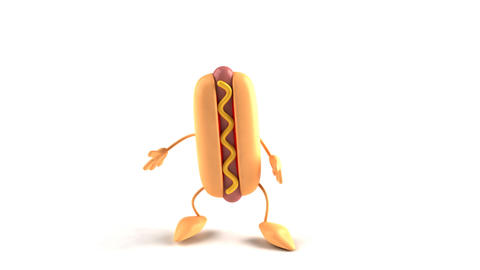 hotdog jump Animation
