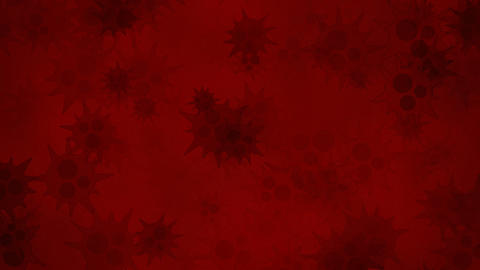 Red bacteria Animation