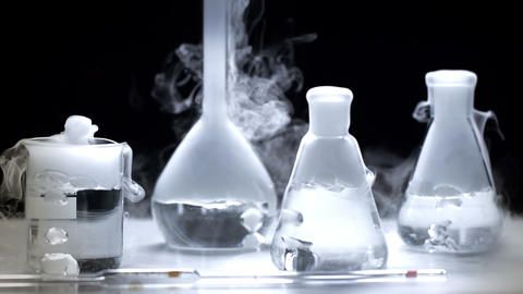 Laboratory Equipment stock footage