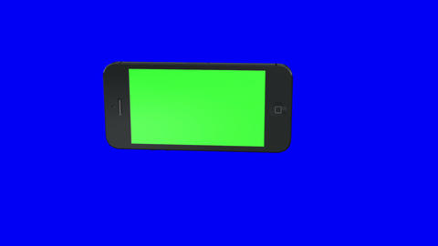 cellphone green screen HD loop Animation