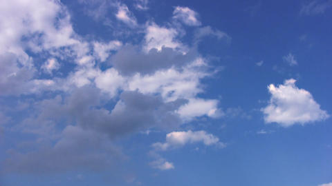 Clouds. Timelapse stock footage