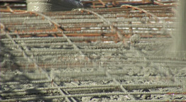 Pouring Concrete stock footage