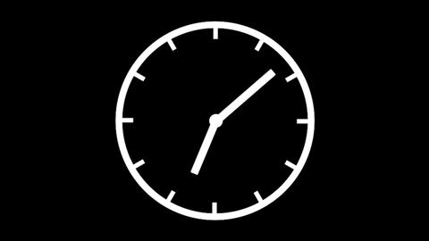 Clock Time Lapse, HD Animation