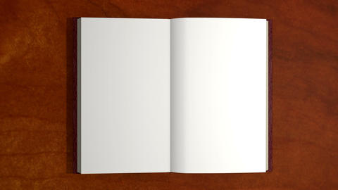 Opening Book, turn page Animation