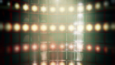 Smoky Stage Lights Backdrop Loop stock footage