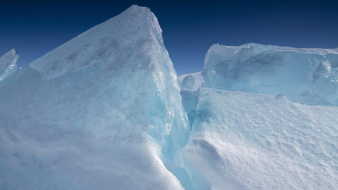 Ice Scapes stock footage